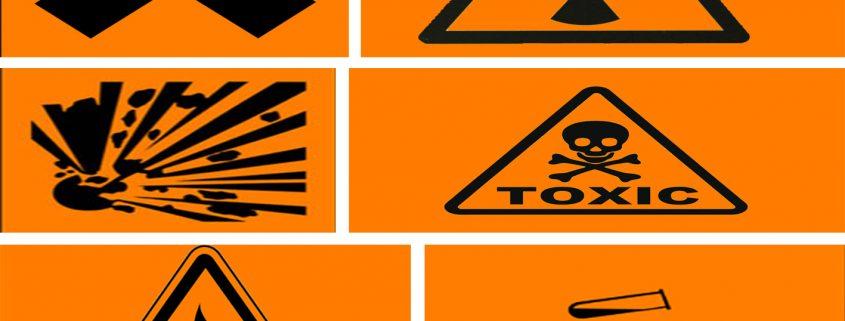 simbol keselamatan kerja laboratorium